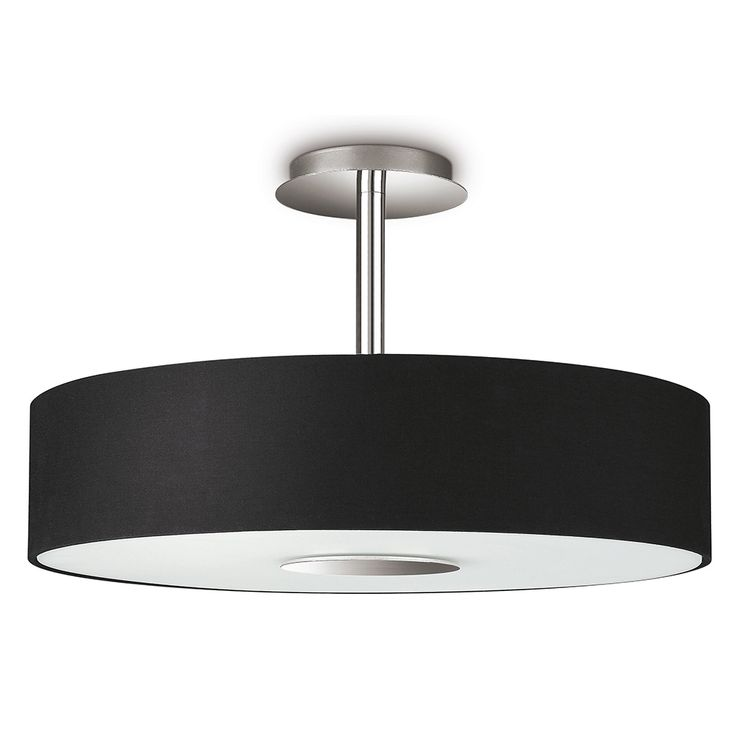 Philips InStyle Flora Circular Ceiling Light - Black