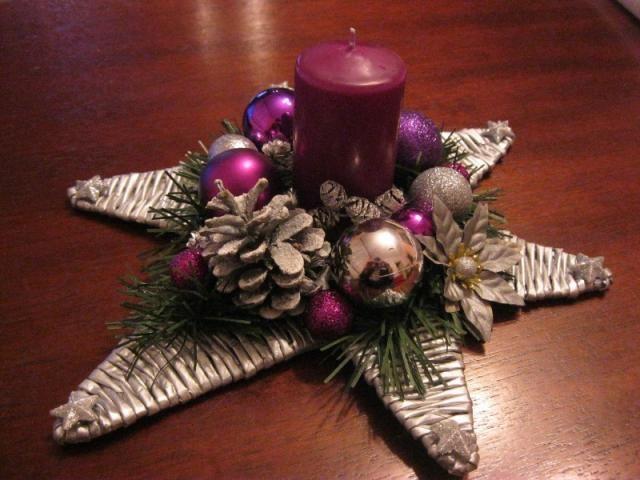 Vianočný svietnik - Artmama.sk