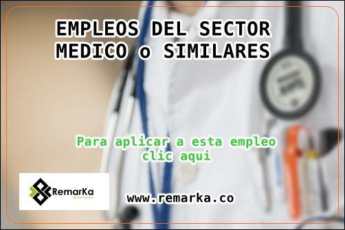 Empleos Sector Medico o Salud