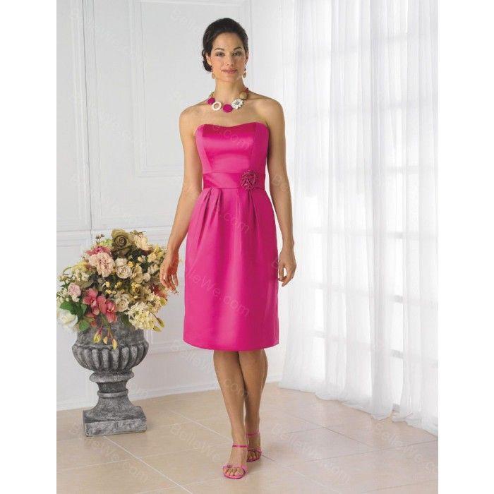 robe rose fushia demoiselle d 39 honneur recherche google mariage t moins wedding bridesmaid. Black Bedroom Furniture Sets. Home Design Ideas