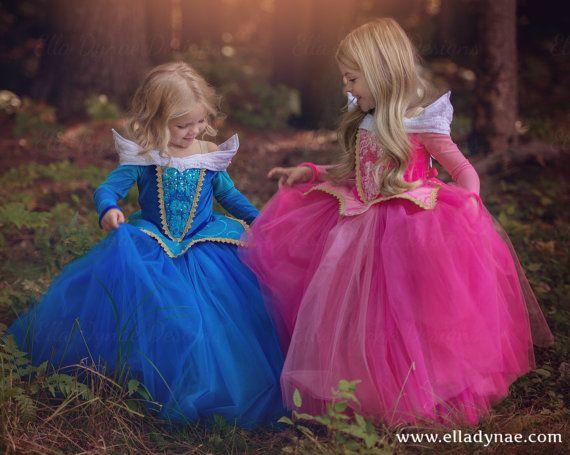 CHRISTMAS DELIVERY Sleeping Beauty Aurora Costume by EllaDynae