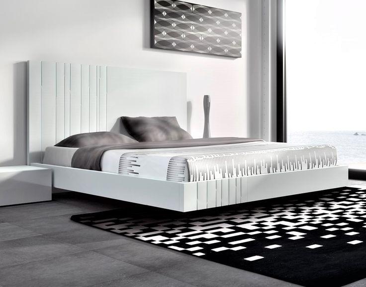 Guardia - AROA in Lacquer Matt / High Gloss Modern Minimalist bed