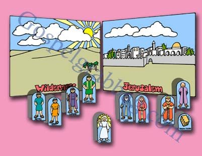 We Can Show Our Faith By Being Obedient Coloring Page