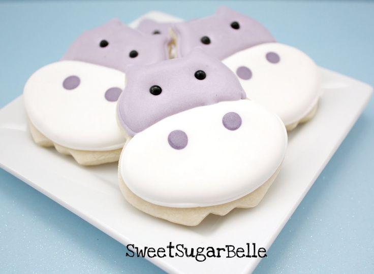 Hippo cookies.