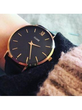Cluse La Minuit Rose Gold / Black  | Για αγορά κλικ πάνω στην εικόνα