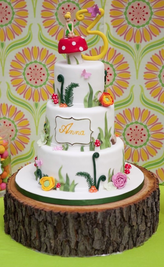 Woodland Fairy Tale Cake Party Ideas Pinterest Cakes