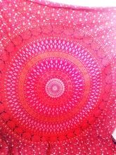 bohemien blok gedrukte laken/bed spread mandala hippie indian tapijt
