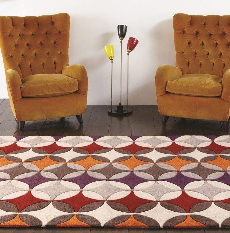 die besten 25 retro teppiche ideen auf pinterest couchtisch retro retro couchtische und. Black Bedroom Furniture Sets. Home Design Ideas