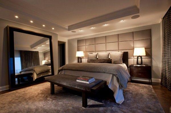 Современныйй стильный дизайн спальни