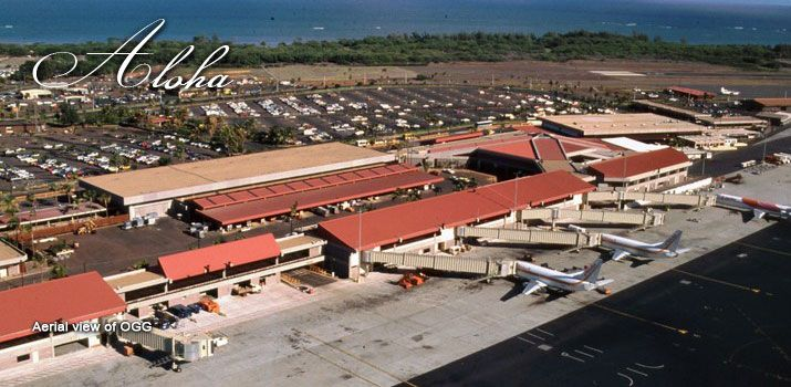 Kahului Airport on Maui