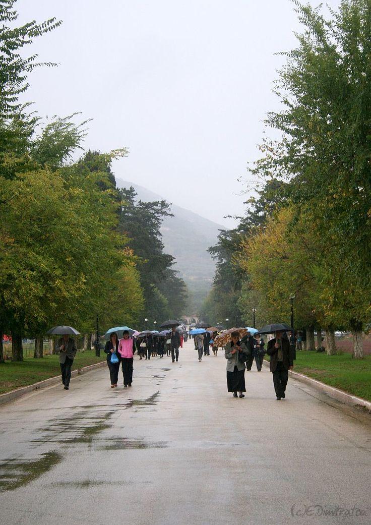 October rain - Kefalonia, Greece