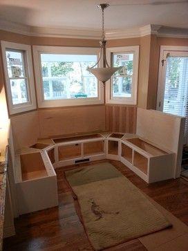 25 kitchen window seat ideas - Kitchen Booth Ideas