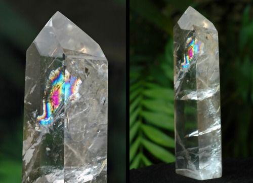 Rainbow Foil Quartz from Tocantins  by Igor SchwartzmannFoil Quartz, Tocantins, Rocks Minerals, Rainbows Foil, Stones, Gems Minerals El, Gem Minerals El, Minerales Minerals