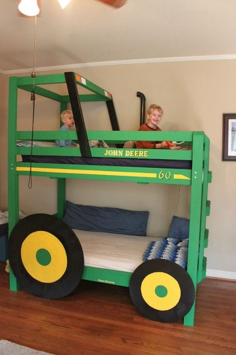 Creative DIY Bunk Bed Ideas! Super creative. I'm thinking just maybe..........