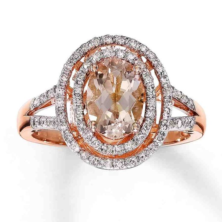 35 best rose gold engagement rings images on Pinterest Rose gold
