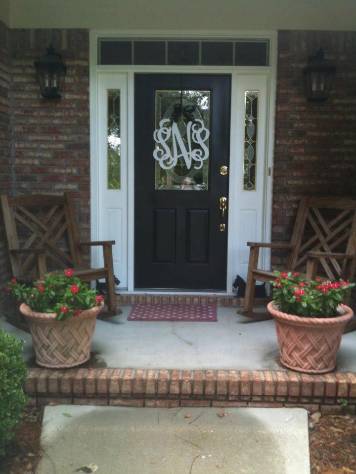 front-door monograms