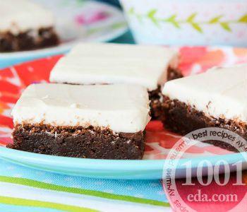 Крем для пирожных Брауни: 2 рецепта