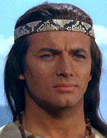 Pierre Brice als Winnetou, so hat sich der hübsche Kerl in mein Herz geschlichen!