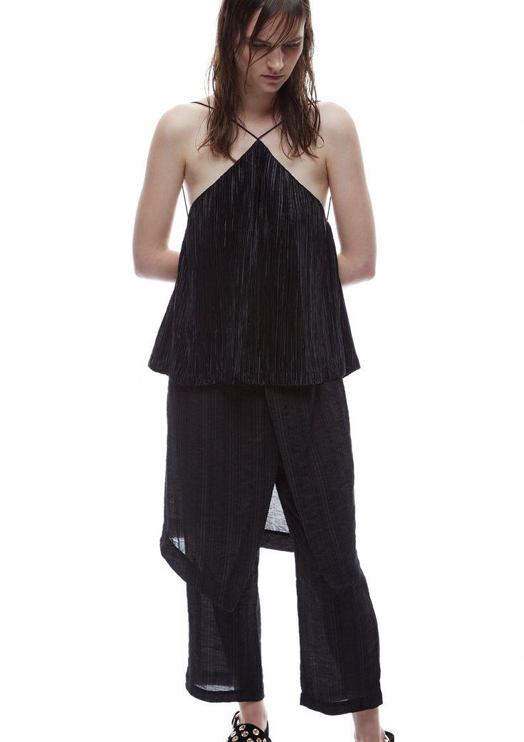 THIRD FORM SPRING 15 | RESTLESS CAMI #thirdform #fashion #streetstyle #style #minimalism #trend #model #black&white