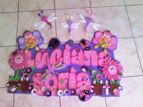 Letrero Bienvenido Cartel Nombre Baby Shower Nacimiento (Mesas ...