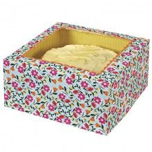 Floral Cake Box http://missmouseboutique.co.nz/shop/cake-treat-boxes/cake-boxes-floral/