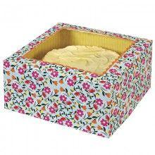 Floral Cake Box http://missmouseboutique.co.nz/shop/cake-treat-boxes/cake-boxes-floral/