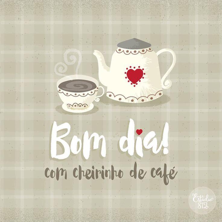 Uma mensagem das boas para compartilhar com pessoas queridas! Bom dia com cheirinho de café :) Mais