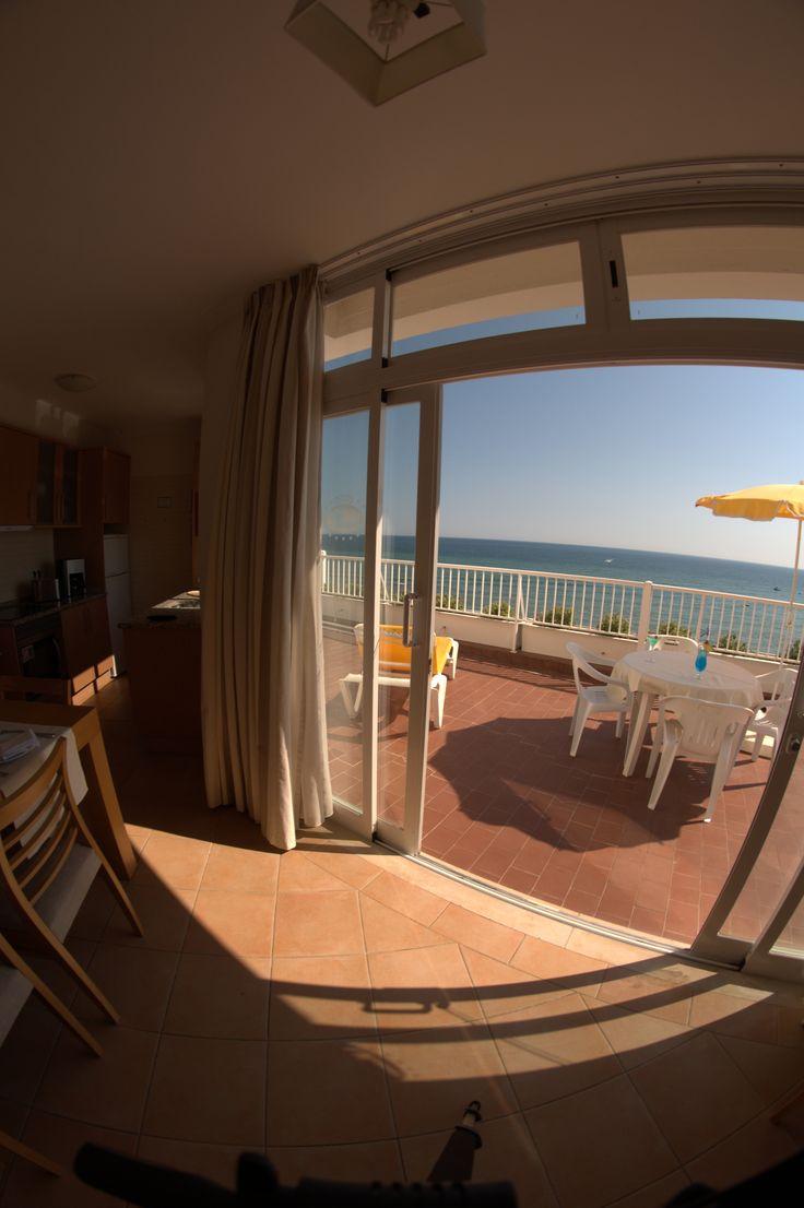 Clube Praia da Oura #seaview #portugal