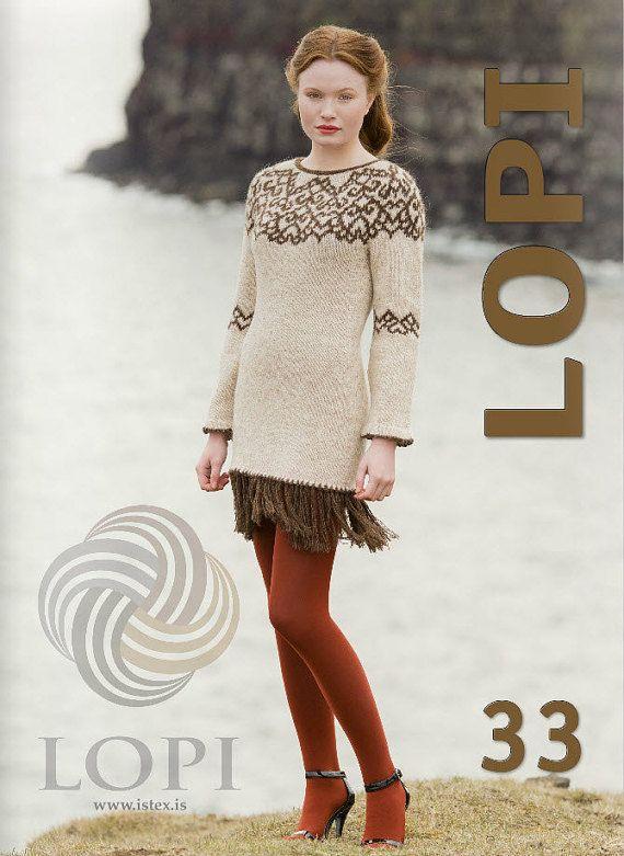 Ístex Lopi No. 33 pattern book lopapeysa Iceland от TheShadySheep