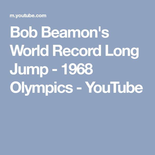 Bob Beamon's World Record Long Jump - 1968 Olympics - YouTube