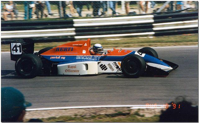 Giovanna Amati - Reynard 91D Cosworth DFV Nicholson-McLaren - GJ Motorsport - Brands Hatch Formula 3000 Trophy - 1991 International F3000 Championship, round 7 - © Antsphoto