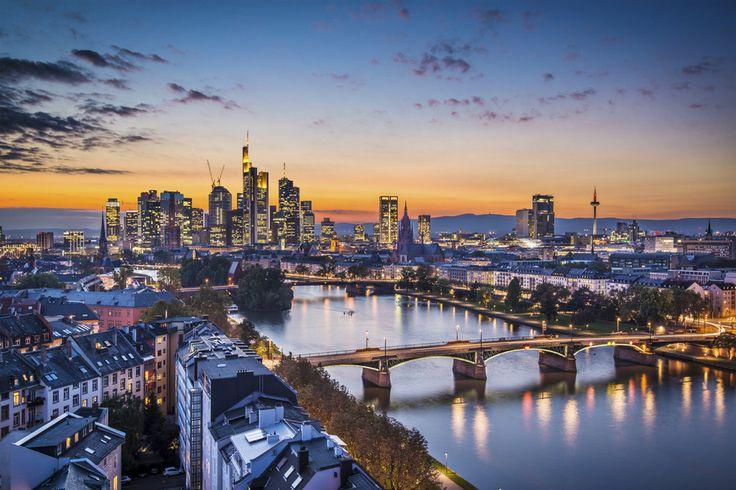 Frankfurt bei Nacht  #Frankfurt