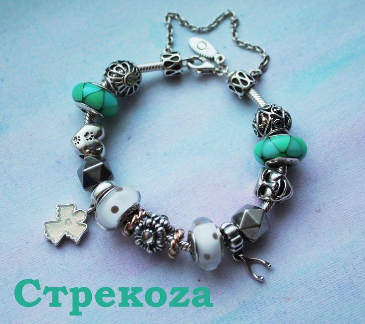 Браслет доченьки. My daughter's bracelet #pandora
