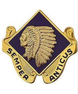 45th Infantry Brigade Combat Team Unit Crest (Semper Anticus)