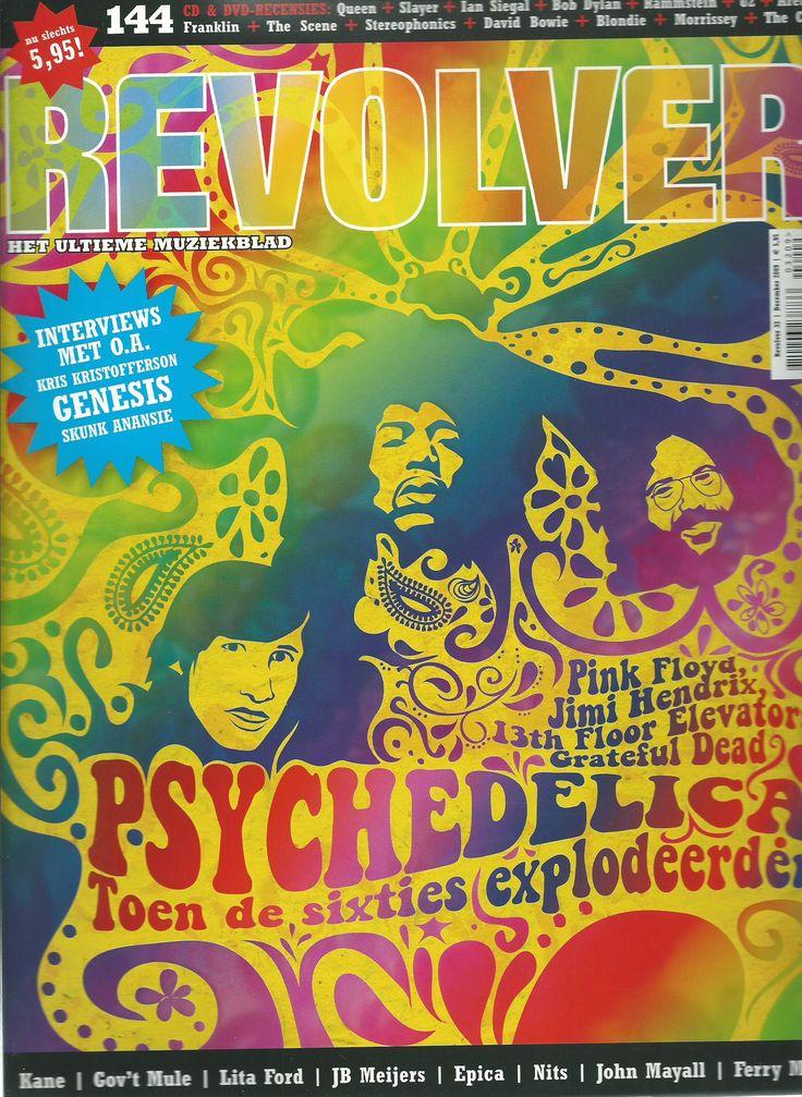 Revolver - muziektijdschrift; schrijven van interviews, cd & concertrecensies