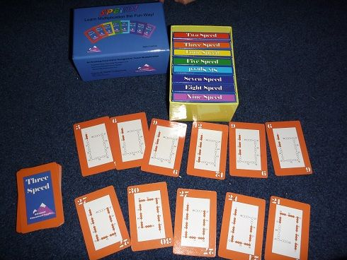 The Homeschool Den: Math Skip Counting Game: Speed!