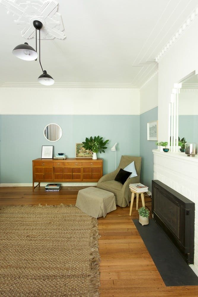 "Name: Joanne O'Callaghan Location: Melbourne, Australia Size: 510 square feet Years owned: 16 years Joanne recently renovated this late-1940s Art Deco apartment in East Melbourne, Australia. The entire place is full of light and charm, but the apartment's living and dining space, called the ""blue room,"" is a particular jewel: It features Art Deco cornices, a tiered mirror above the original fireplace and a large framed window. Joanne writes: ""Our focus was to breathe life and creativity into…"