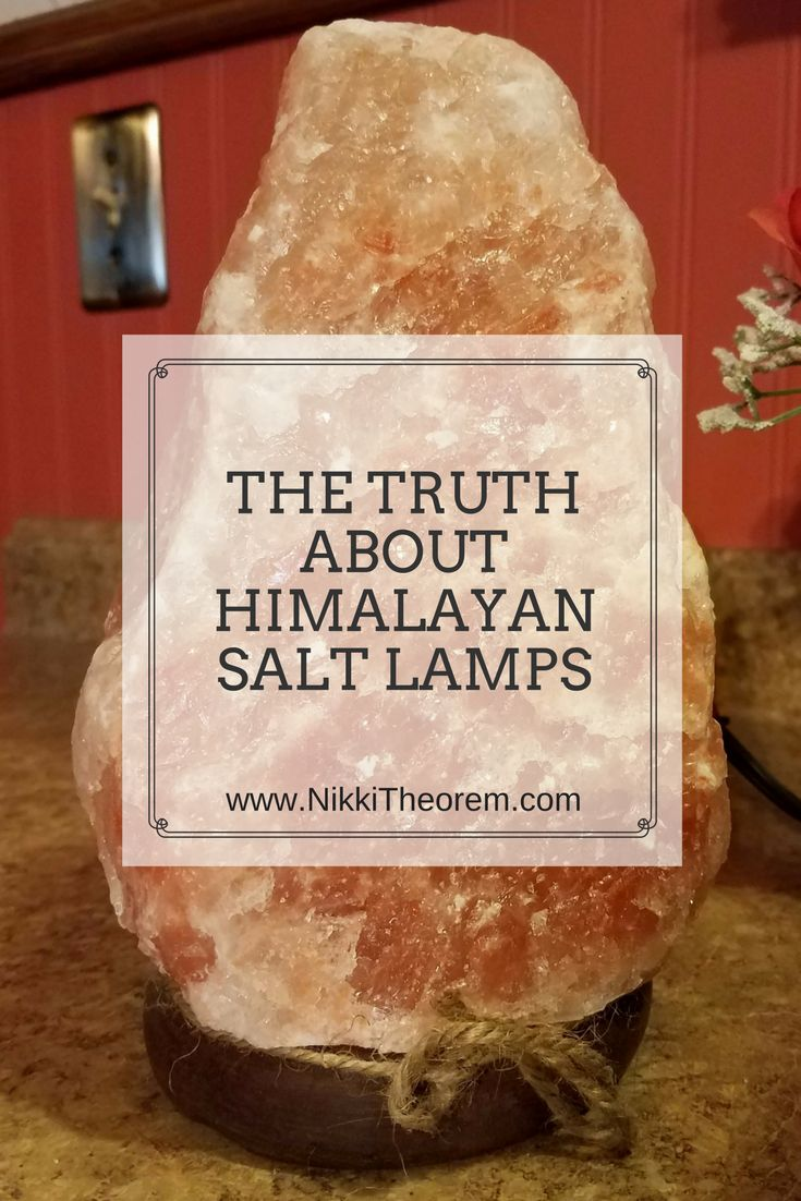 I love my Himalayan salt lamp -- come read all the info about them on my blog!
