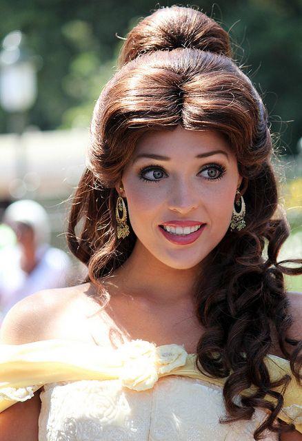 Belle   My favorite Belle at Disneyland!