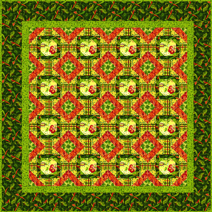 Belvedere Quilt: Belved Floral, Quilts Patterns, Belved Quilts, Belvedere Floral, Spring Creative, Colors Palettes, Floral Quilts, Blocks Patterns, Quilts Ideas