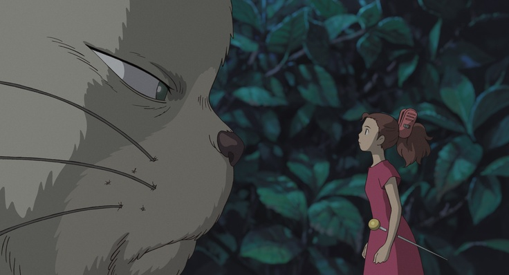 Secret World of Arriety.  Love.: Film, Studio Ghibli, Cat, Not Them Miyazaki, Movies, Anime, The Secret