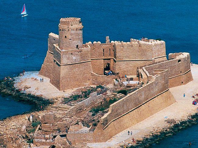 Castello Aragonese visto dall'alto