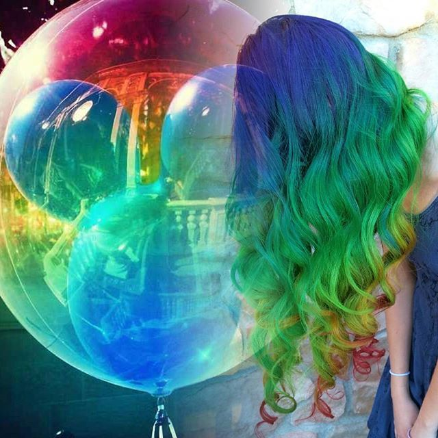 #disneypoplocks #pravana #arcticfoxhaircolor #disneyhair #behindthechair #modernsalon #beautylaunchpad #hotonbeauty #americansalon #contest #hairtrends #trending #hairtrend #fiidnt #popsugar #instahair #haircolor #rainbows @bottleblonde76 @arcticfoxhaircolor @hairbykaseyoh @lollypoplocks @rachellaroux @nothingbutpixies @imallaboutdahair @wesdoeshair #rainbow #rainbowhair #mermaid #mermaidhair #magical #hairstyles #curls #hairstylist  #vivid #neon #wonderlandhair