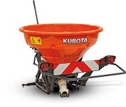 The Kubota Vertical spreader is a proven solution for the use on dairy farms, vineyards, general agriculture and golf courses. Click to view full range of spreaders. #kubotaimplements #farmmachinery #spreader