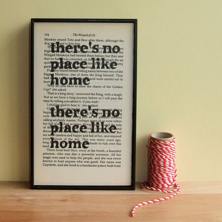 There's No Place Like Home Quote