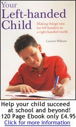 How to teach Left-Handed child to Write / Use Scissors
