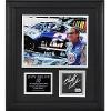 Mounted Memories Rusty Wallace Framed Photo with Autographed Race-Used Tire and Plate Nascar.com Superstore