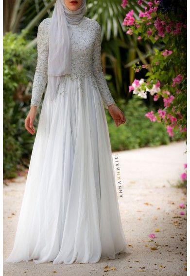 Delphinium Gown annah hariri