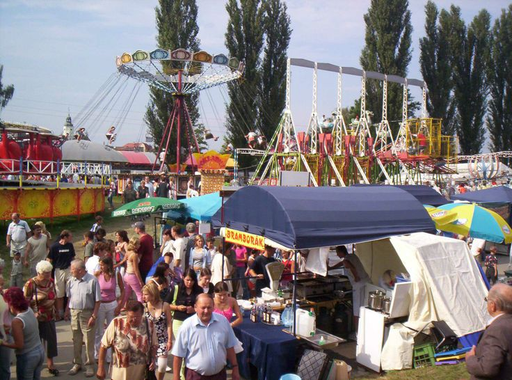 Fairs are very popular in Czech Republic. The duration of one fair is from one weekend to one week. Families go together to visit attractions and parents buy sweets for their kids. The biggest fair that annualy takes place in Prague is called Matějská pouť.