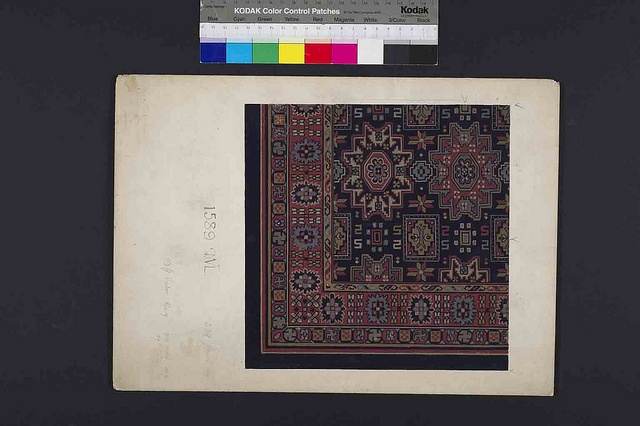 Stoddard-Templeton Design: Assorted Persian and Bordered Squares (STOD/DES/111/31) | Flickr - Photo Sharing!